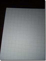 プロジェクトリングノート紙