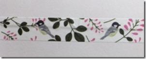 森の小鳥ちゃんマスキングテープ