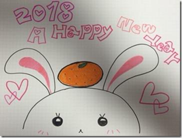 2018新年うさぎはなこIMG_1359