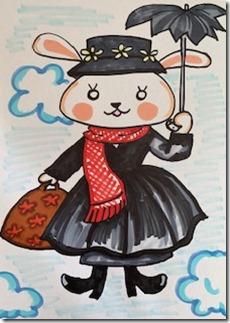 メリー・ポピンズ・ウサギ・ハナコ