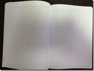 2020週間ノートうしろの大容量ノートページ